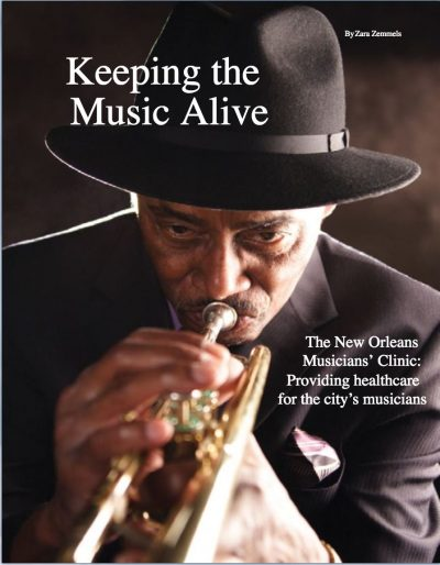 Healthcare Journal of New Orleans Cover on NOMC