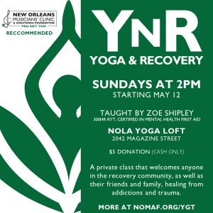 YOU GOT THIS - New Orleans Musicians' Clinic