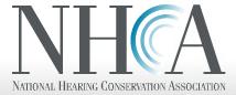 NHCA National Hearing Conservation Association Logo