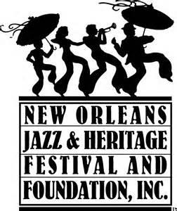 NOJHF New Orleans Jazz and Heritage Foundation Logo