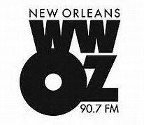 wwoz radio logo