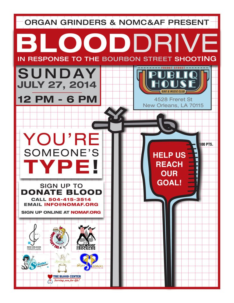 Blood Drive 2014 Poster