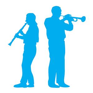 2 musicians