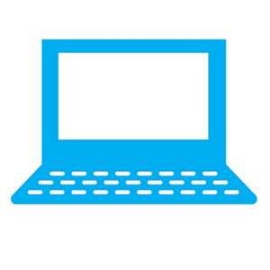 Graphic of laptop