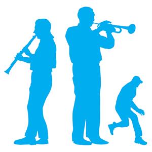 2 musicians & 1 child
