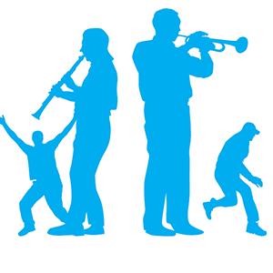 2 musicians & 2 children