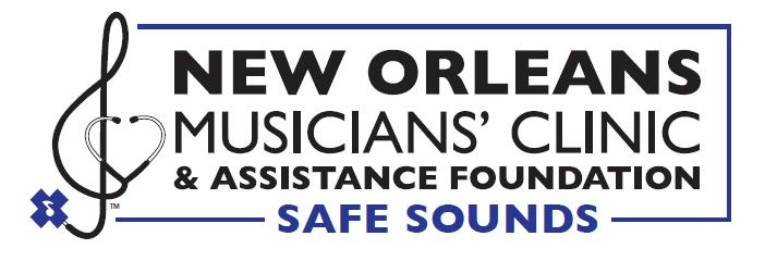 NOMC Safe Sounds Logo